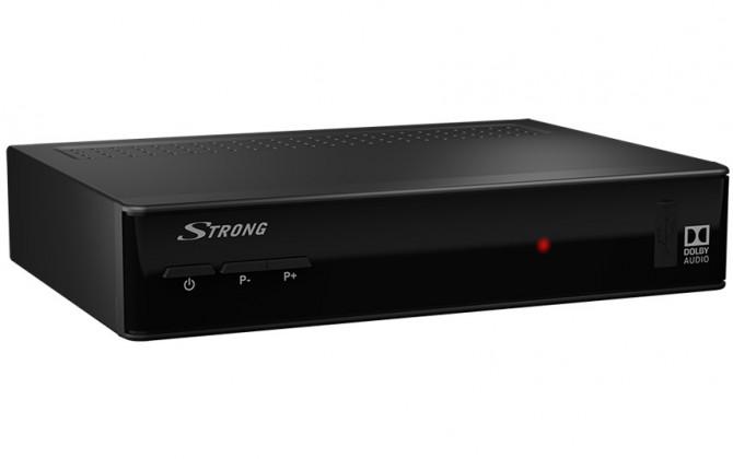 Satelitní příjímač Satelitní přijímač STRONG DVB-S2 přijímač SRT 7502