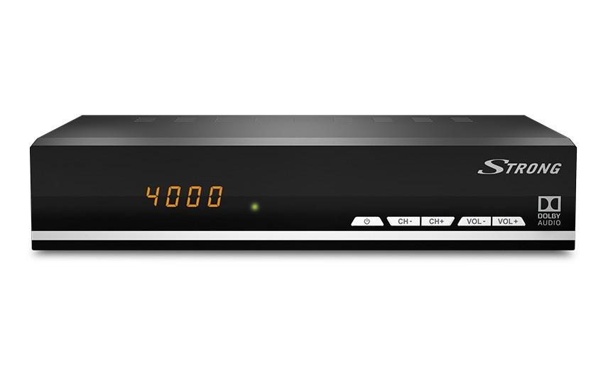 Satelitní příjímač STRONG DVB-S2 přijímač SRT 7007 ROZBALENO