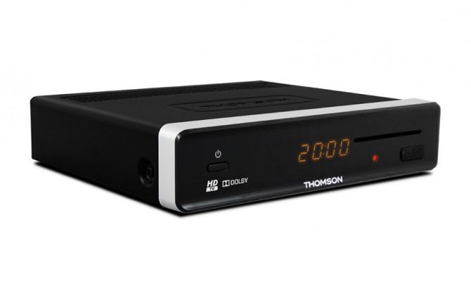 Satelitní příjímač THOMSON DVB-S HD přijímač THS813 POUŽITÉ, NEOPOTŘEBENÉ ZBOŽÍ