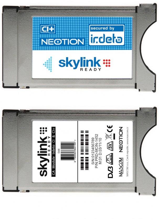 Satelitní příslušenství Skylink Neotion Irdeto CI+