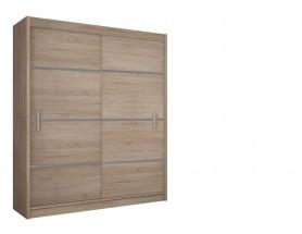 Šatní skříň Multi - 150/215/61 (sonoma)