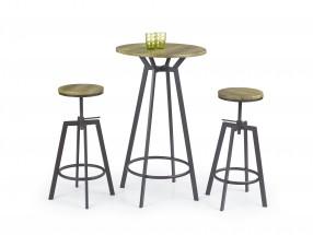 SB-9 - Barový stůl (hnědá)