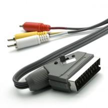 SCART/3xCINCH kabel Vivanco 2m