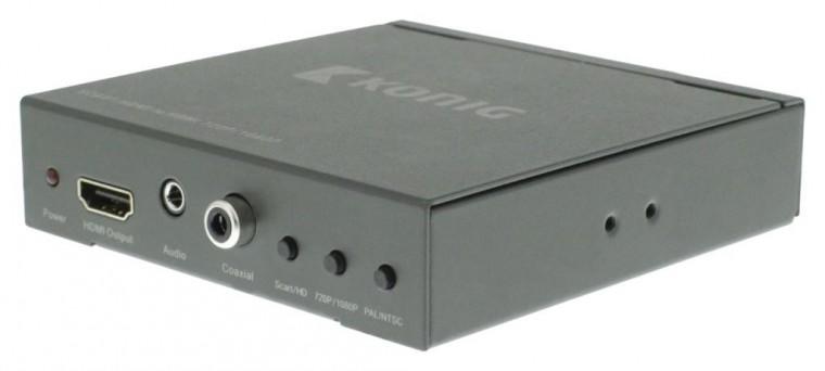 SCART + HDMI – HDMI™ přepínač/převodník