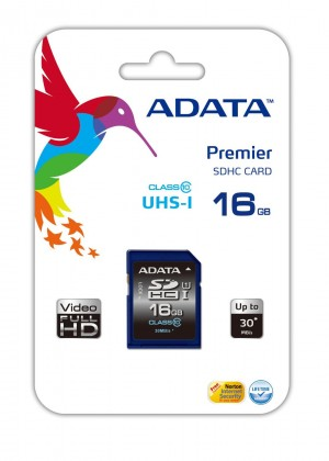SDHC A-Data SDHC Premier 16GB UHS-I class 10