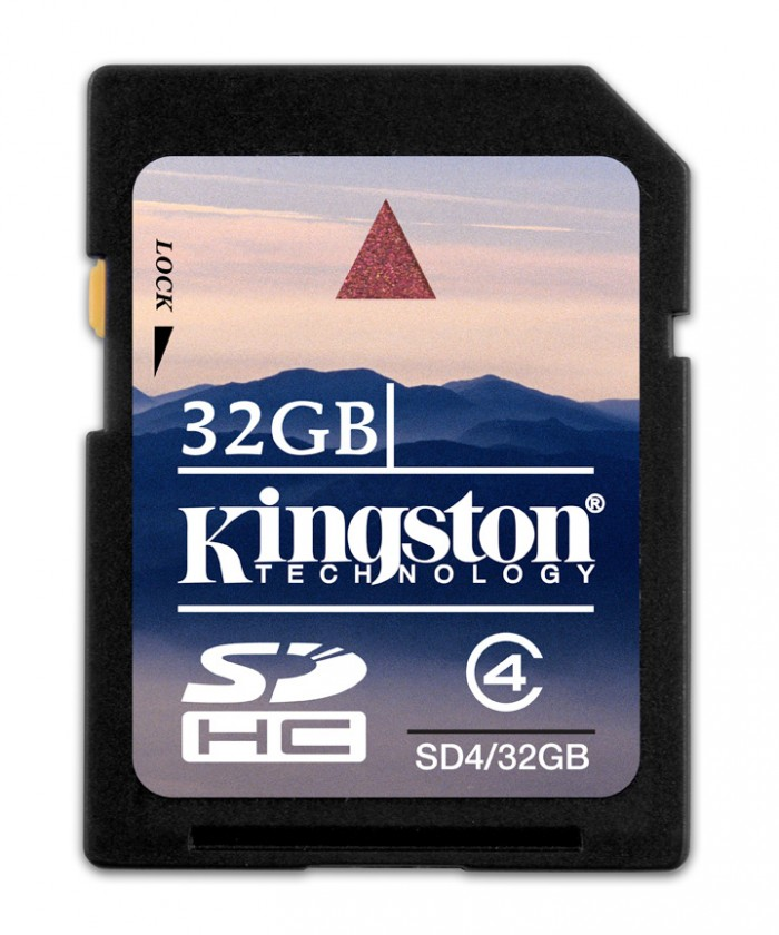 SDHC Kingston SDHC 32GB Class 4 - SD4/32GB