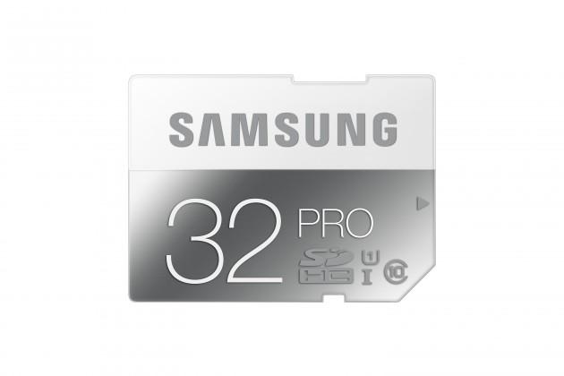 SDHC Samsung SDHC 32GB (class 10) PRO 90 MB/s - (MB-SG32D/EU)