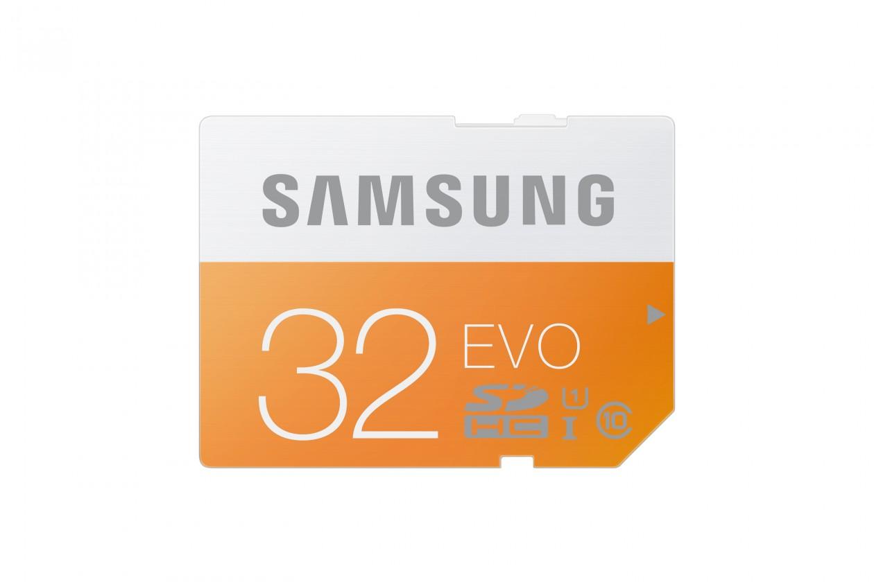 SDHC Samsung SDHC EVO 32GB Class 10 - (MB-SP32D/EU)