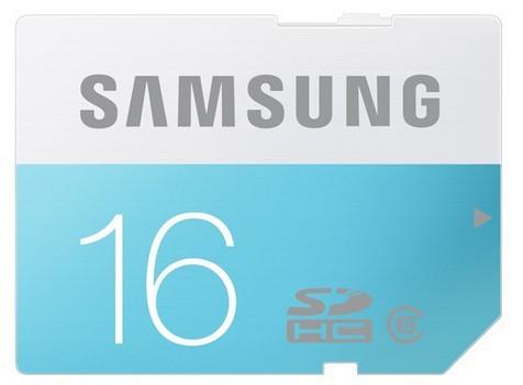 SDHC Samsung SDHC Standard 16GB Class 6 + (MB-SS16D/EU)