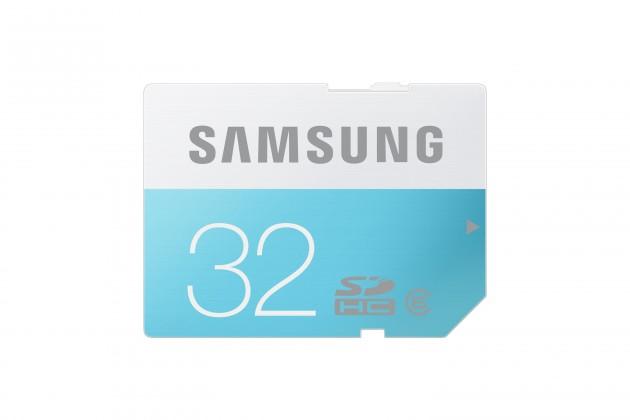 SDHC Samsung SDHC Standard 32GB Class 6 + (MB-SS32D/EU)