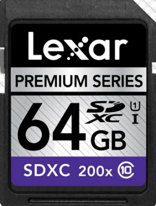 SDXC Lexar 64GB SDXC 200x Premium (Class 10)