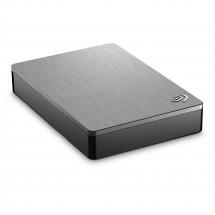 Seagate Backup Plus Portable 4TB, stříbrná STDR4000900