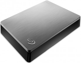 Seagate Backup Plus Portable 5TB, stříbrná  STDR5000201