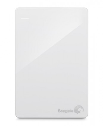 "SEAGATE HDD 2,5"" Backup Plus Slim 1TB USB 3.0 bílý (STDR1000411)"