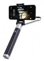 Selfie tyč WG 5 s 3,5 Jack konektorem a spouští, černá