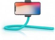 Selfie tyč Zbam GEKKOSTICK, multifunkční, tyrkysová