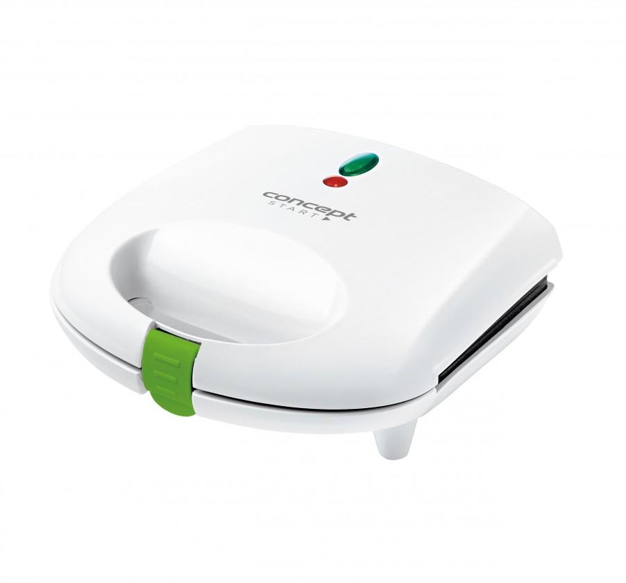 Sendvičovač Sendvičovač Concept SV3020, 700W, bílý