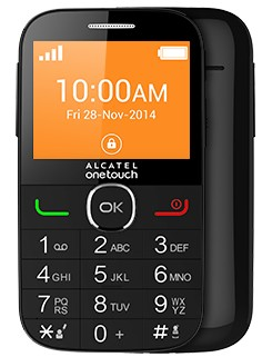 Senior telefon ALCATEL ONETOUCH 2004G Black