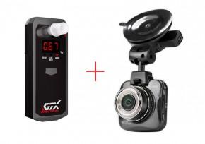Set alkohol tester GTX Spectrum + autokamera CarForce A500