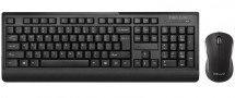 Set Delux K6010, bezdrátový, myš+klávesnice, černá
