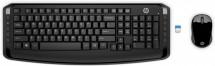 Set HP 300 SK, klávesnice + myš, černá