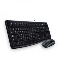 Set klávesnice a myši Logitech K120, CZE, černá