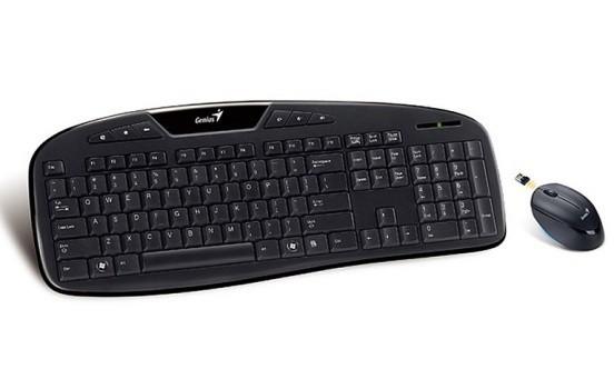 Set klávesnice s myší Genius KB-8005, bezdrátový set, černá - 31340044107