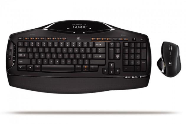 Set klávesnice s myší Logitech Cordless Desktop MX 5500 Revolution 920-000453