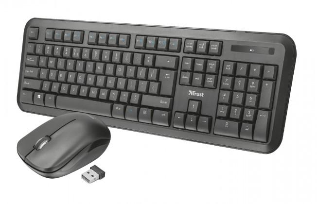 Set klávesnice s myší Nova Wireless Keyboard and mouse CZ /SK