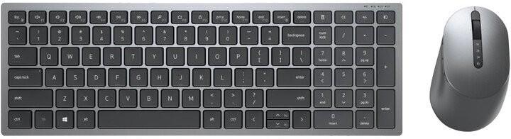 Set klávesnice s myší Set Dell KM7120W, klávesnice+myš, multi-device, CZ/SK, černá