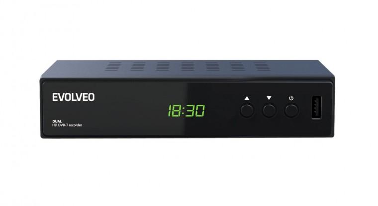 Set-top box EVOLVEO DELTA HD - Dual HD DVB-T rekordér