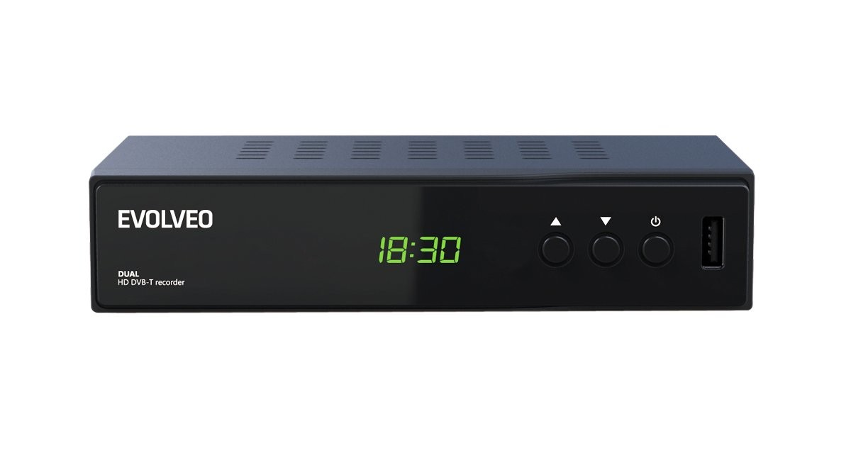 Set-top box EVOLVEO DELTA HD - Dual HD DVB-T rekordér
