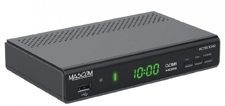Set-top box Mascom MC750T2