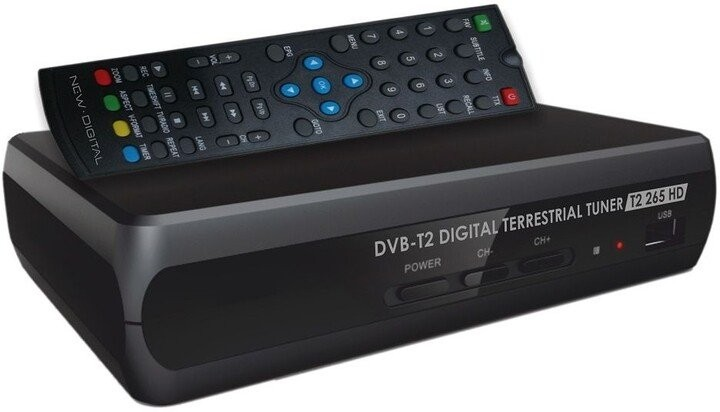 Set-top box Set-top box New Digital T2 265 HD