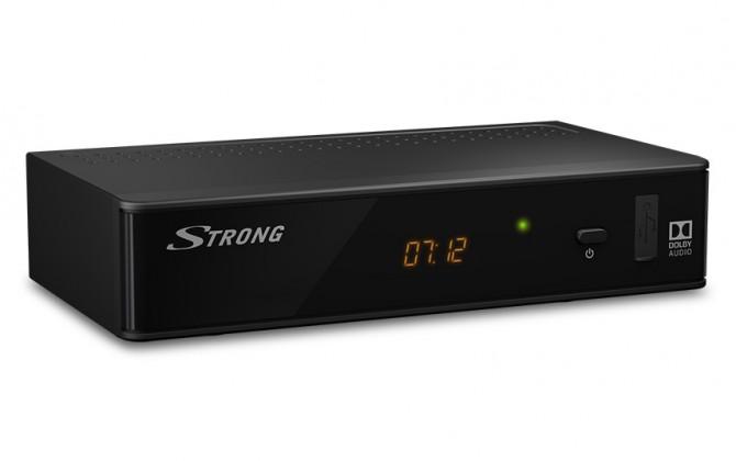 Set-top box STRONG DVB-T2 přijímač SRT 8211