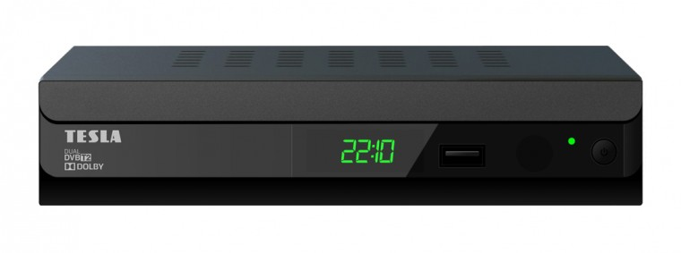 Set-top box Tesla DUPLEX T2