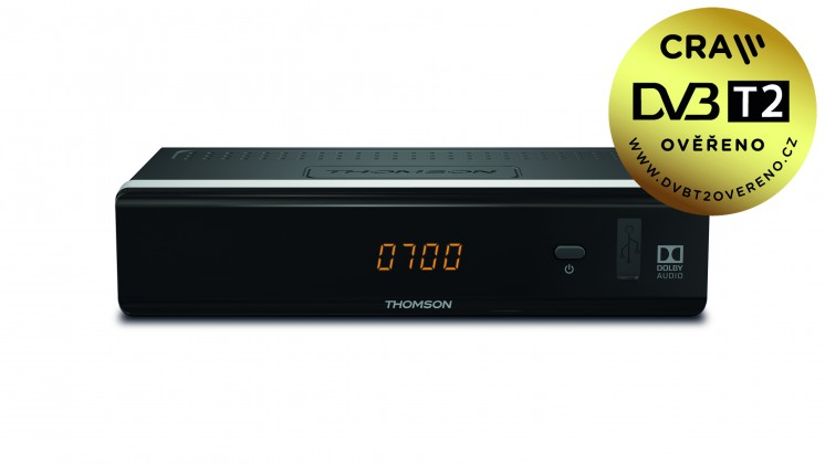 Set-top box THOMSON DVB-T2 přijímač THT 712