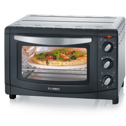 Severin TO 2061 Mini trouba - horký vzduch, grill a pizza kámen