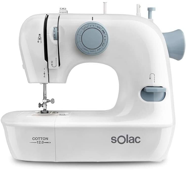 Šicí stroje Šicí stroj Solac Cotton 12.0 SW8220 POUŽITÉ, NEOPOTŘEBENÉ ZBOŽÍ