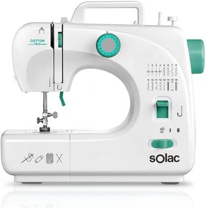 Šicí stroje Šicí stroj Solac Cotton 16.0 SW8230 POUŽITÉ, NEOPOTŘEBENÉ ZBOŽÍ