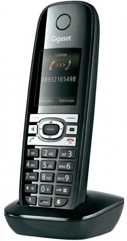 Siemens Gigaset C610 Shiny Black ROZBALENO