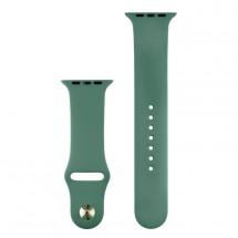 Silikonový sportovní řemínek pro Apple watch 38/40 mm, J zelená