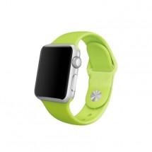 Silikonový sportovní řemínek pro Apple watch 38/40 mm, zelená