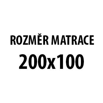 Silver Stone - Matrace (100x200x21, potah grey silver life)