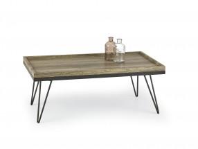 Silvia - konferenční stolek (dub žíhaný/černá)