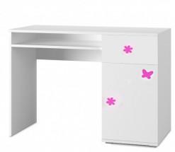 Simba 12(korpus bílá/front bílá a růžový motýlek)