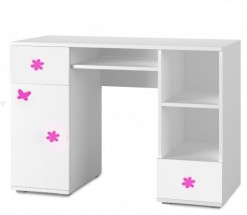 Simba 13(korpus bílá/front bílá a růžový motýlek)