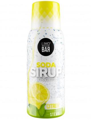 Sirup Limo Bar, Citron, stévie, 500ml