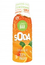 Sirup Pomeranč pro Limobar