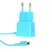Síťová nab Micro USB 1A modrá